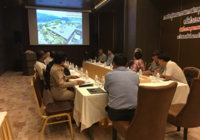 A PSU Team presented MSIE4.0 to the Federation of Thai Industries Songkhla Chapter
