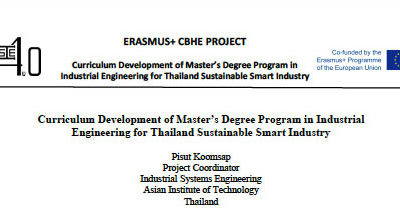 Conceptual Model for Curriculum Development of Master's Degree Program in Industrial Engineering for Thailand Sustainable Smart Industry